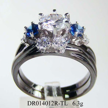Lux Couple's Jewelry Fashion Engagement Lover's Ring