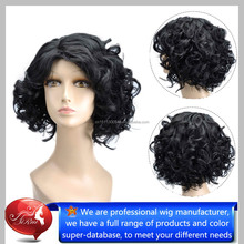 Curly blonde Crazy Wig, Red Synthetic Wig, Hot Sale Synthetic Wig