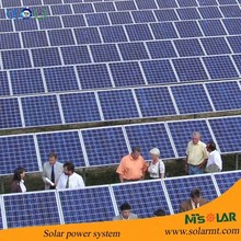 High efficiency solar power system, on-grid 200kw solar panel system