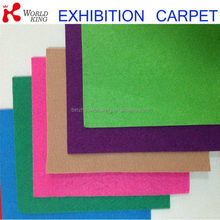 OEM branded polyester exhibition carpet