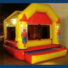 Hot promotion amusement games inflatable castle combo bounce house