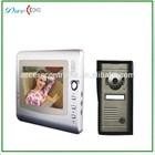 venda quente 7 polegadas tela da cor intercomunicador apartamento intercom sistema de telefone video da porta