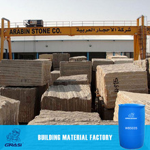 WB5035 Construction application Waterproofing chemical for decorative wall stone ,Light in weight,easy to work