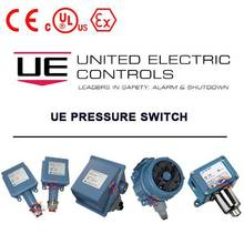 United Electric Control (UE) pressure and temperature switch