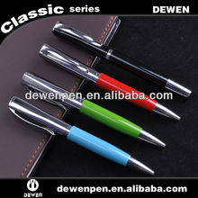 with super quality new design promotion metal ballpoint pen brands