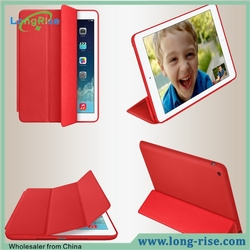 High Quality Foldable Flip Stand PU Leather Smart Cover for iPad Mini 4
