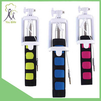 new selfie stick extendable hand held monopod low price Colorful Selfie
