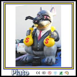 giant outdoor advertising character /advertising giant inflatable monster for sale