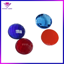 Colorful Cubic Zirconia 5mm Round Single Turtle Face CZ Gemstones for Jewelry