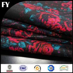 Custom high quality digital printed heavy cotton twill fabric