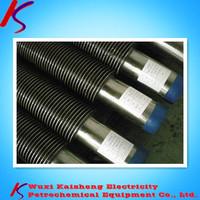 ERW alloy aluminum spiral / square / longitudinal finned tube,stainless finned tube