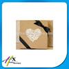 2015 Alibaba China Cardboard Wedding box with Ribbon Bowknot