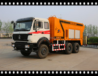 starry brand beiben truck /made in hebei road seal machine /asphalt slurry seal machine