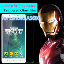 """0.26mm Utra-thin 9H for Lenovo S8 Play A5860 A5600 5.5 """" 2.5D Arc Edge Super Clear Premium Tempered Glass Screen Protector"""