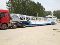 China manufacture car towing trailer for sale car carrier trailer 3 car trailer for sale