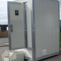 Light weight CKD China mobile portable toilet made of holypan