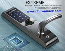 High security Fireproof grade fingerprint door locks