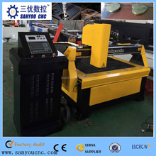 Jinan Sanyou CNC Plasma Cutting Machine for Iron/ Stainless Steel/ Aluminum/ Copper SY-1530