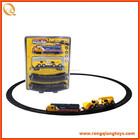 Hot venda de crianças , engraçado quebra-cabeça de plástico brinquedos trilha do trem mini train com track BO155041-7