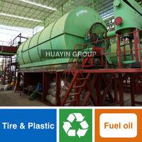 Huayin Brand 10 Ton/Day Waste Tire Recycling/Pyrolysis Machine
