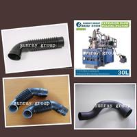 plastic corrugated pipe blow molding machine