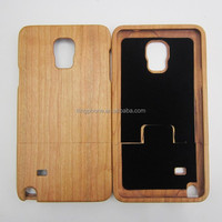For Samsung Galaxy note 4 high quality pure wooden bamboo cell phone case