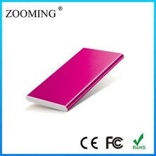 M-408 Best Quality Portable Power Bank 4000 Mah, ultrathin metal case for samsung galaxy s4