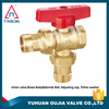 pneumatic angle seat valve brass Hpb57-3 professional Angle valve made in China