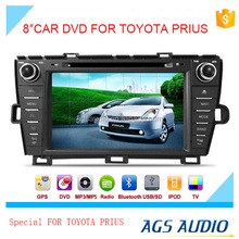 touch screen car dvd mp3 mp4 player for TOYOTA PRIUS with reversing camera/car cassette/cd dvd/gps
