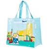 cotton coated PVC shopping bag / custom recyclable shopping bag wholesale / waterproof cotton shopping bag