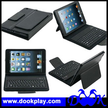 Leather Keyboard Cover For iPad mini keyboard case --- Black color