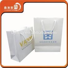 promotional printed art paper bag