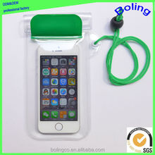 China wholesale clear PVC waterproof phone case