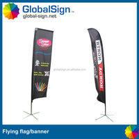 Shanghai GlobalSign custom HOT SELLING outdoor feather flags