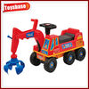 Kids ride on toy digger