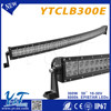 4x4 Electric parts External Lights 300w led car headlight kit off road roof light bar YTCLB300E