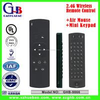 2.4G Wireless Air Mouse Mini Keypad Remote Control
