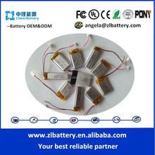 external li-ion 1200mah battery 3.7v for mini gps tracker