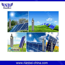 Large power solar water pumping system for irrigation