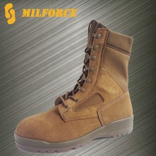 Coyote color good quality military army jungle boots