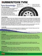 RUBBERSTONE TYRE Importing TBR tire from China Radial Truck Tire 1200R20 315/80R22.5
