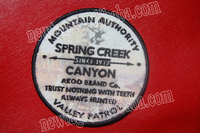 embroidery patch embroidered custom badges / patches Akoo, Canvas+ Embroidery+ Silk Screen Print