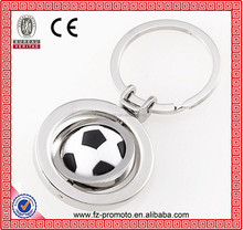 Promotional sports ball metal key chain shaped football/ basketball/table-tennis paddle