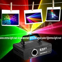 New DJ Disco/Party LED-RGB Crystal Magic Ball Effect Stage Laser Light Mini UK
