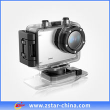 Waterproof full HD 1080P sports camera with SOS function