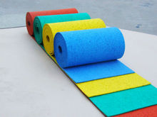 Sport DPEM rubber flooring surface