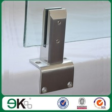 exterior glass railing side mounted balustrade stainless steel glass pool fence spigot