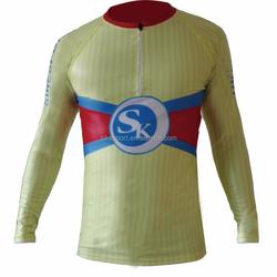 2016 Nordic cross country skiing lycra racing suit