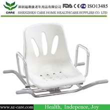 cura girevole sedile da bagno per disabili