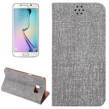 China supplier Magnetic Buckle style leather phone case for Samsung s6 edge plus cover